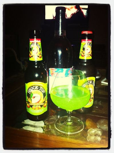 One of those kind of nights Beer Wine Apple Martini Know How To Drink!