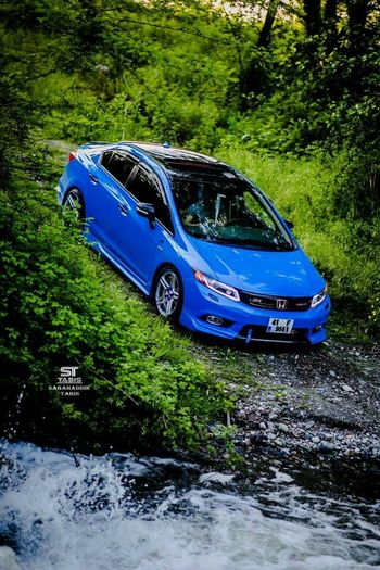 Auto Honda. Civic Car Blue Sabahaddintabisphotography Diffetent Life Good Perfect #action facebook ve instagramdan takip edin sabahaddintabis