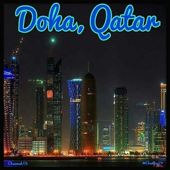 Doha,Qatar Dohalife Doha Doha_district Skyline Doha By Night