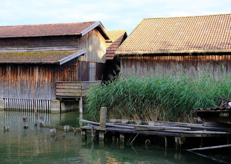 Holiday Lakeview Sea House StiltHouse Wood Architecture Architecture Boathouse Building Exterior Built Structure Lake Lake View Lakeside Landscape No People Old Architecture Old Harbor Old Harbour Reed Reeds Stilt Stilt House Stilts Houses Water Wood House Wood Houses