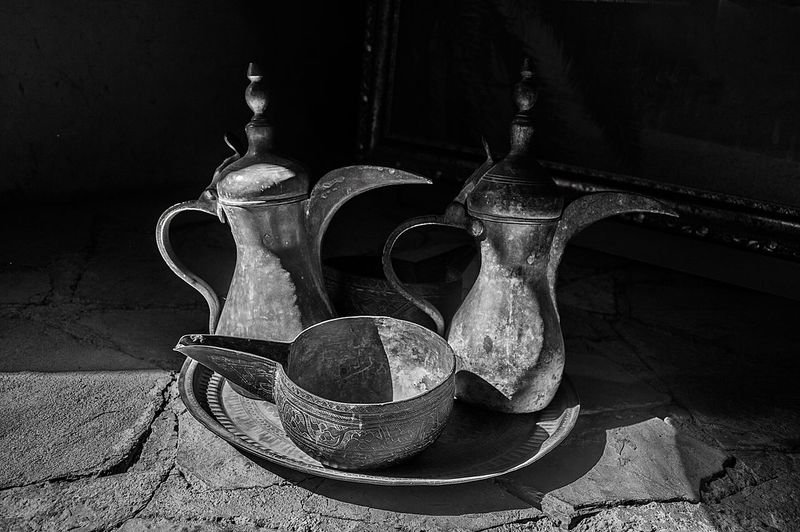 Blackandwhite Close-up Coffee Day Indoors  Nature Morte No People Old School Pots Shadows & Lights Vintage EyeEmNewHere