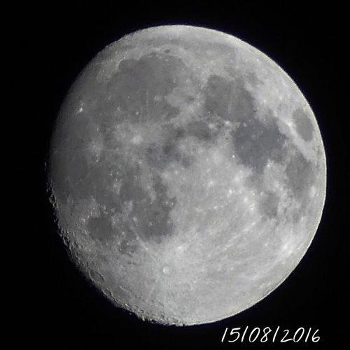 Premier Quartier Lune Moon ÉTÉ 2016 Summer 2016 Nuit D'été Nuit Night Skyfie CIELFIE