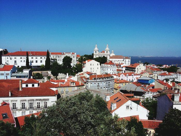 Buildings And Monastery Of Sao Vicente De Fora Against Clear Sky
