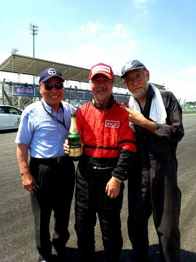 TMSC VITZ 岡本選手2位! Car Tukuba Race