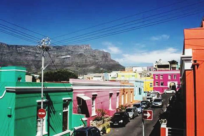 Cape Town Bo-kaap Hello World Eye4photography  Ilovecapetown South Africa Tablemountain This Week On Eyeem Tourism Travel