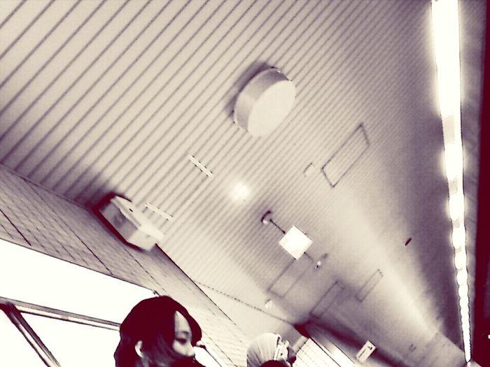 """ Homeward Bound "" Streetphotography Blackandwhite Train Station"