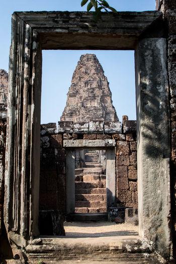 Angkor Perspective Light Angkor Ruins Civilization Ancient Civilization Ruins Temple