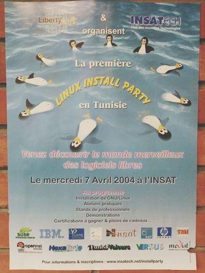 Install party Gnu/Linux le 7 Avril 2004... Nostalgie