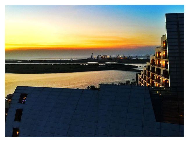 Gold Time Hotel, Yingkou city, a beautiful habour view hotel and resorts. It was developed and operated by my classmate.