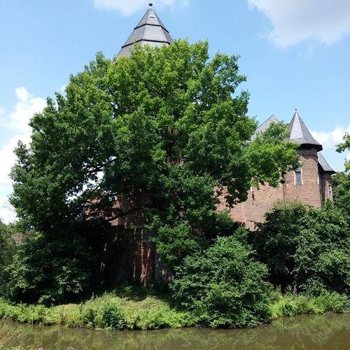 Und hier das gleiche Foto ohne Filter aber wieder mit dem LGG3 geschossen. LG  G3 Nofilter BurgLinn Burg Linn LinnerBurg Krefeld