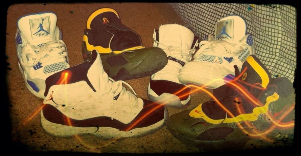 Three of my fav shoes