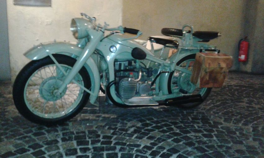 Old BMW Motorcycle @ Warsaw Museum Warsaw Warszawa  Warsaw Poland Poland Polska Bmw Bmw Motorcycle Museum History