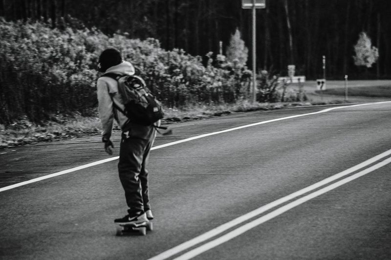 My Year My View Longboarding Longboard Adventure Road Outdoors Photography Sunycollege