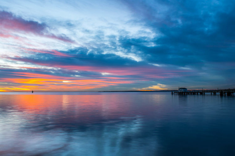 Beach Beauty In Nature Cloud - Sky Day Horizon Over Water Nature No People Outdoors Reflection Scenics Sea Sky Sunrise Tranquil Scene Tranquility Travel Destinations Vacations Water
