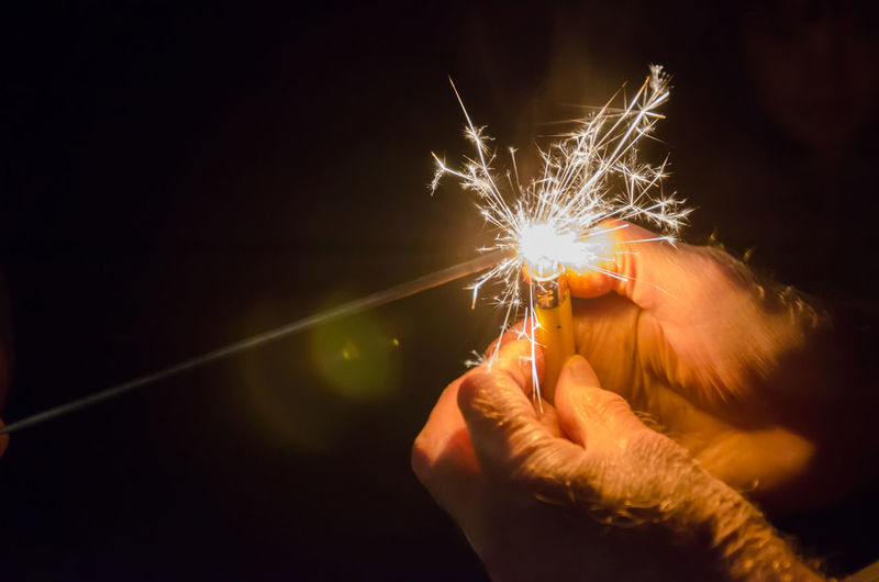 Flame Hands Adult Black Burning Celebration Close Up Glow Glowing Glowing In The Dark Hand Human Body Part Human Hand Illuminated Illumination Lighter Night One Person Real People Spark Sparkler Sparks