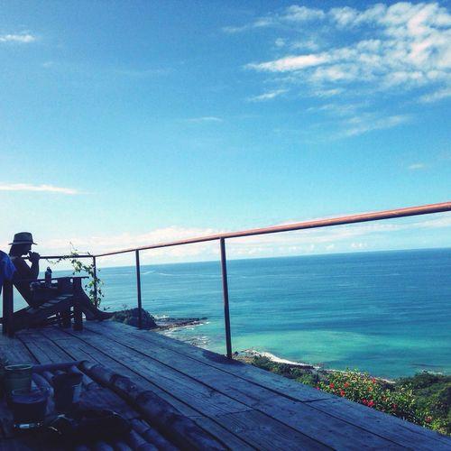 Ocean View Malpais Ishootfeelings Costa Rica Deck Paradise
