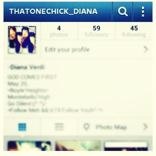 Follow Meh On Instagram Tho Ill Do The Same