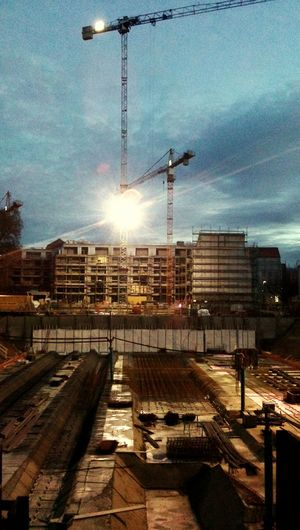 Construction time again Dresden Outerworld Android Photography Architecture Lost In Moments City Building