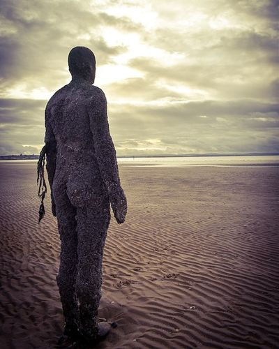 Antony Gormley Sculptures Adults Only Human Body Part Beach Sea Sand Walking Cloud - Sky Rear View Water One Man Only Adult Standing Nature People Only Men One Person Outdoors Adults Only Sky Landscape Sunset Men