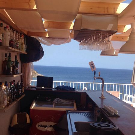 Behind The Bar My Bar Pool Bar Piool By Sea Luxury No People Sea Glasses My Point Of View