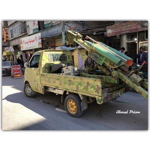 Squarepic فخر الصناعة السورية مدفع القناص. .❤.. سِـوٌريِّأّ حلب Syria  Aleppoّ