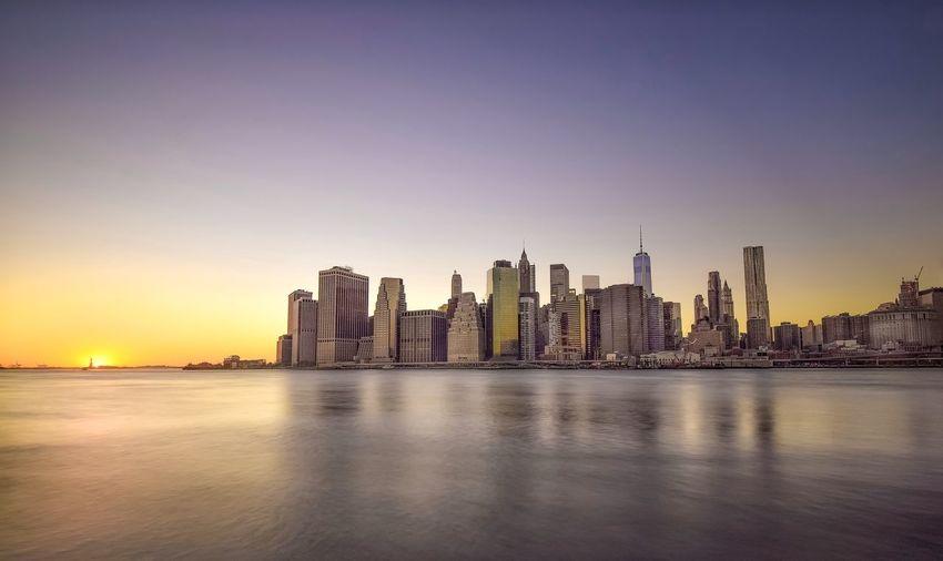 Bridge Brıdge City Long Exposure Brooklyn Bridge / New York Landscape_Collection Slow Shutter Longexposurephotography NYC Photography Night Lights Manhattan New York