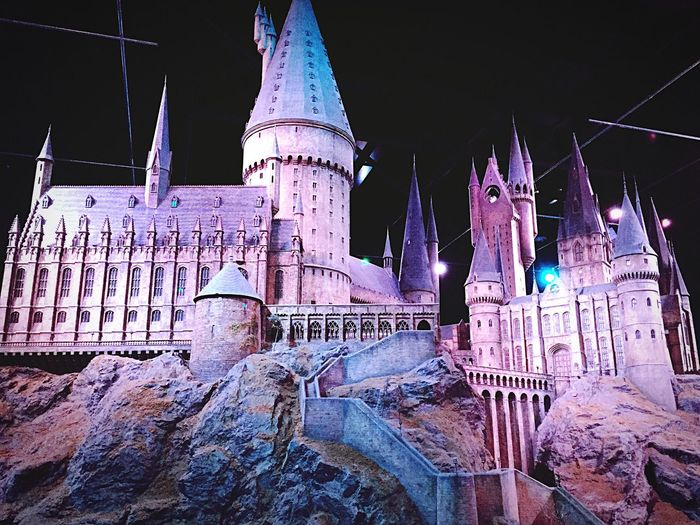 Hogwarts Castle Magical Wbstudioslondon No People