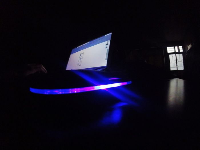 Technology Indoors  Night No People Illuminated Close-up