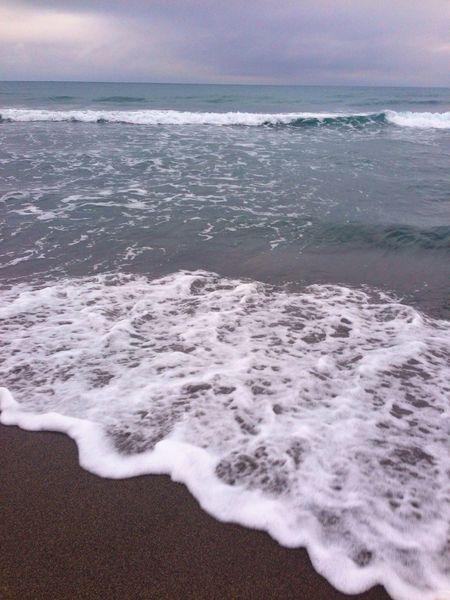 おはよう〜ございます(^^) 雨〜 Beach