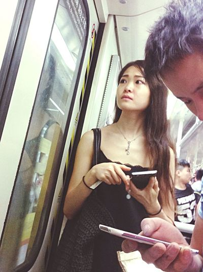 Taking Photos Streetphotography Metro Photo People Beauty Girl Chinese Girl Emeye_China