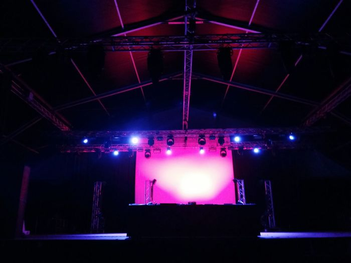 Pink light Indoors  Arts Culture And Entertainment Lighting Equipment Stage - Performance Space Illuminated Performing Arts Event No People Nightlife Nightclub Popular Music Concert Day The Week On EyeEm EyeEmNewHere Sommergefühle Peschiera Borromeo Mix Yourself A Good Time