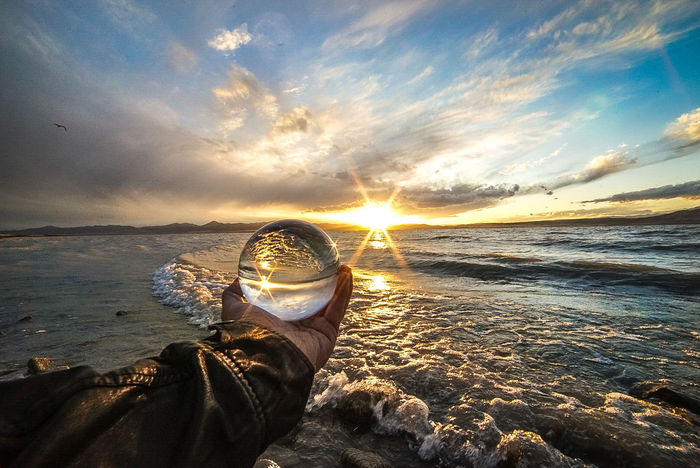 Almost looks like an ocean untill you reach the mountains, utah lake never seens to disappoint Beach Personal Perspective Cloud - Sky Sunset Water Sunlight Sun Nature Beauty In Nature Eyesight Crystalball Waves Beach Life Sky Sand Ocean Leatherjacket Hand Perspective Utah Sony Sonya7r Rokinon14mmf2.8 F22 Sunburst