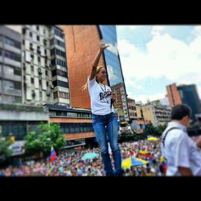 Venezuela Fuerza Coraje Mujer