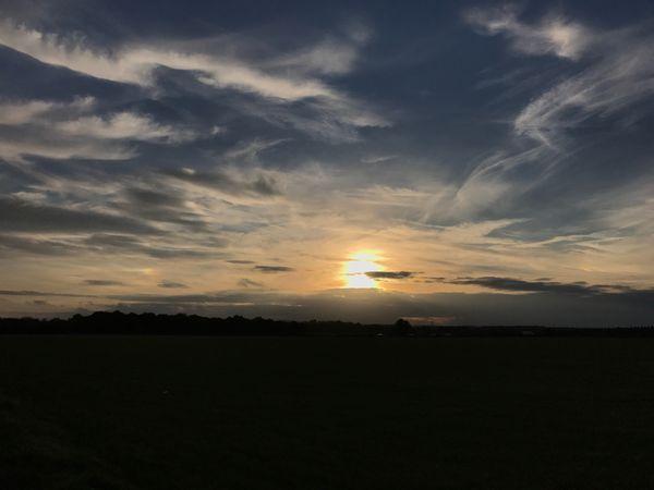 MobileSky Sunset Cloud - Sky