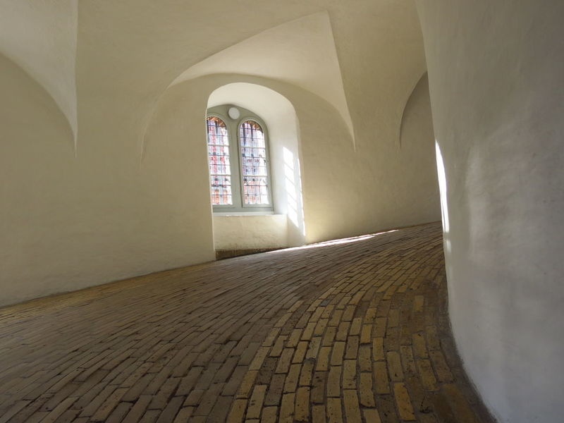 Arch Architecture Built Structure Day History Indoors  No People Round Tower White Wall