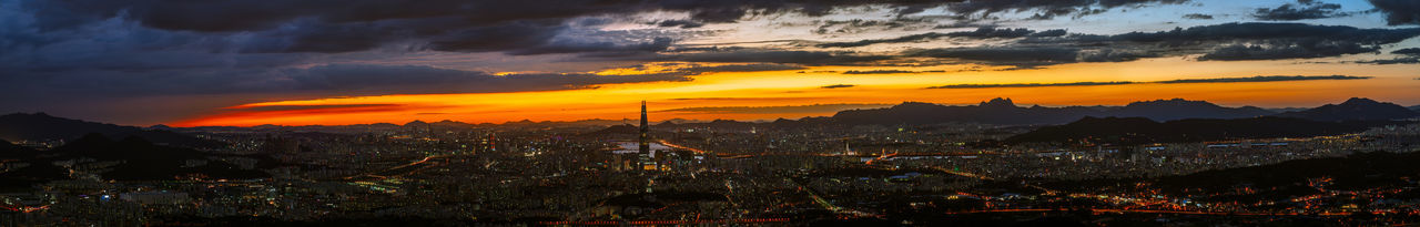 Seoul City Night Landscape Panorama Nightview Nightscape Sony A7R