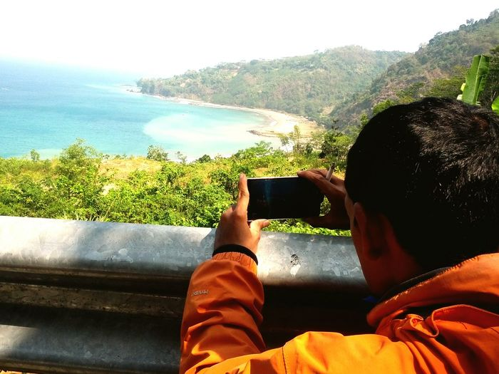 West java , Pelabuhan Ratu Taking Photos INDONESIA Beach Hanging Out Hello World Perjalanan Ke Pantai Sawarna Bayah Banten