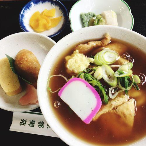 Food Porn Lunch Udon Noodles あんかけ物もそろそろおしまいですかね。