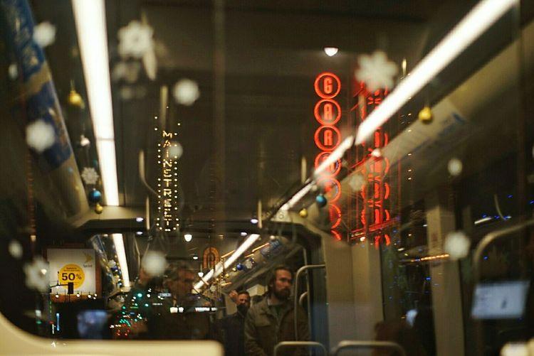 City Neon Train