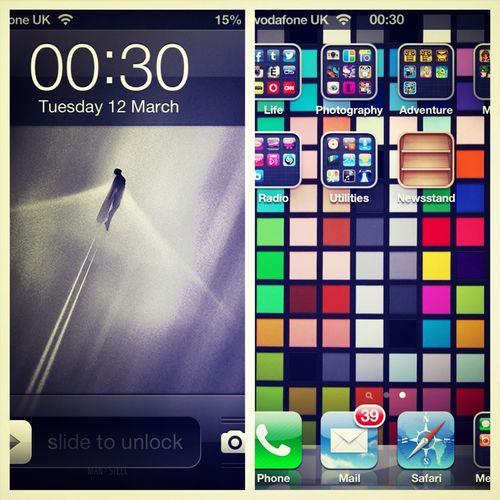 Loving my lock & home screen