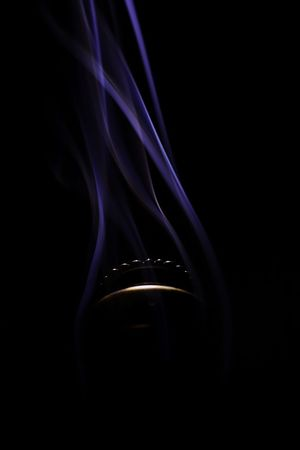 meditation for the peace of souls Focus Object Focused ❤ Love ♥ Fragnance Smoke Insane Sticks STAND Goodfeels Positive Vibes Rising Smoke Peace ✌ Black Background Abstract Close-up Smoke - Physical Structure No People Studio Shot Indoors  Backgrounds Technology Indoors