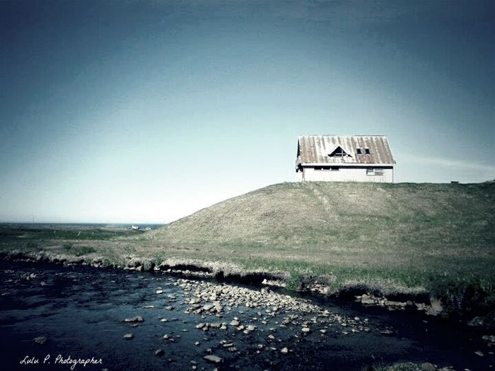 Iceland Lonely Home