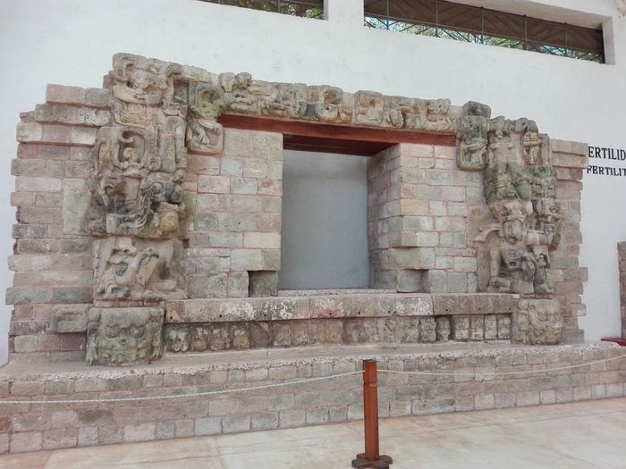 Honduras Mayan Ruins Architecture Building Exterior Built Structure History Mayanculture No People Sculpture