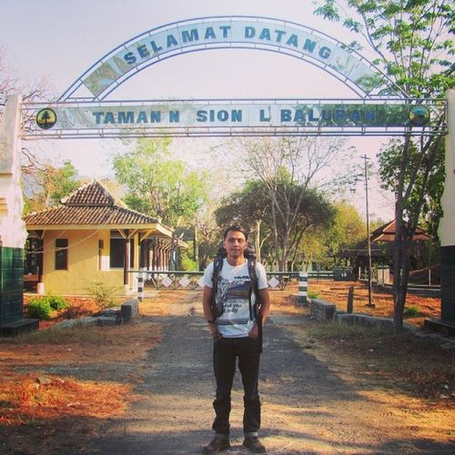 Me Maingate Baluran Balurannationalpark nationalpark trip travelling traveller eastjava indonesia instagood 2instagood