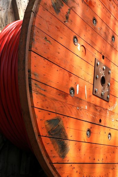 Wood - Material Backgrounds No People Red Barrel Close-up Indoors  Day Wine Cask Cable Orange Color Orange