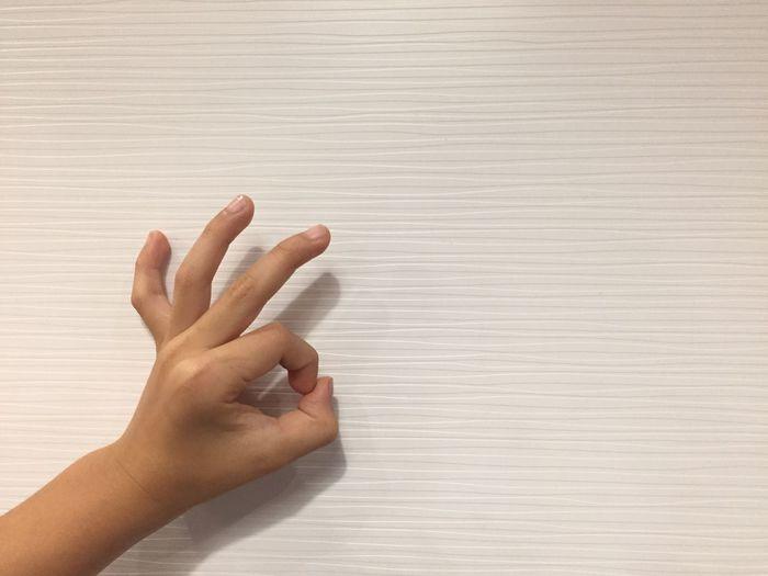 OK Human Hand