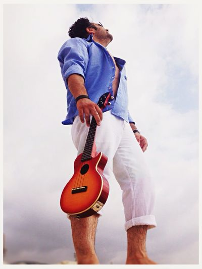 Summertime under cloudy skies... Inspiration Summer Music Ukulele Hawaii Breathe Free_bird Blue Rock Ballade
