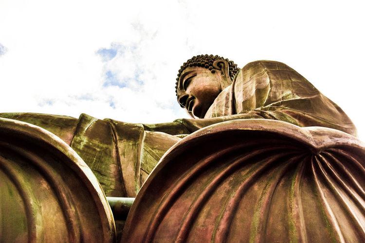 Bronze Buddha ,