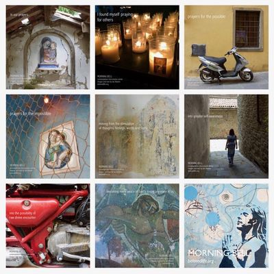 Mix1 from series 'in our prayers (contemplative intercession)' Shrine Contemplation Prayer Stillness Cortona Presence In Our Prayers