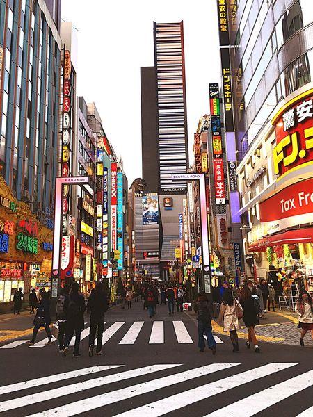 Tokyo Kabukicho Central Godzilla Good Old Place